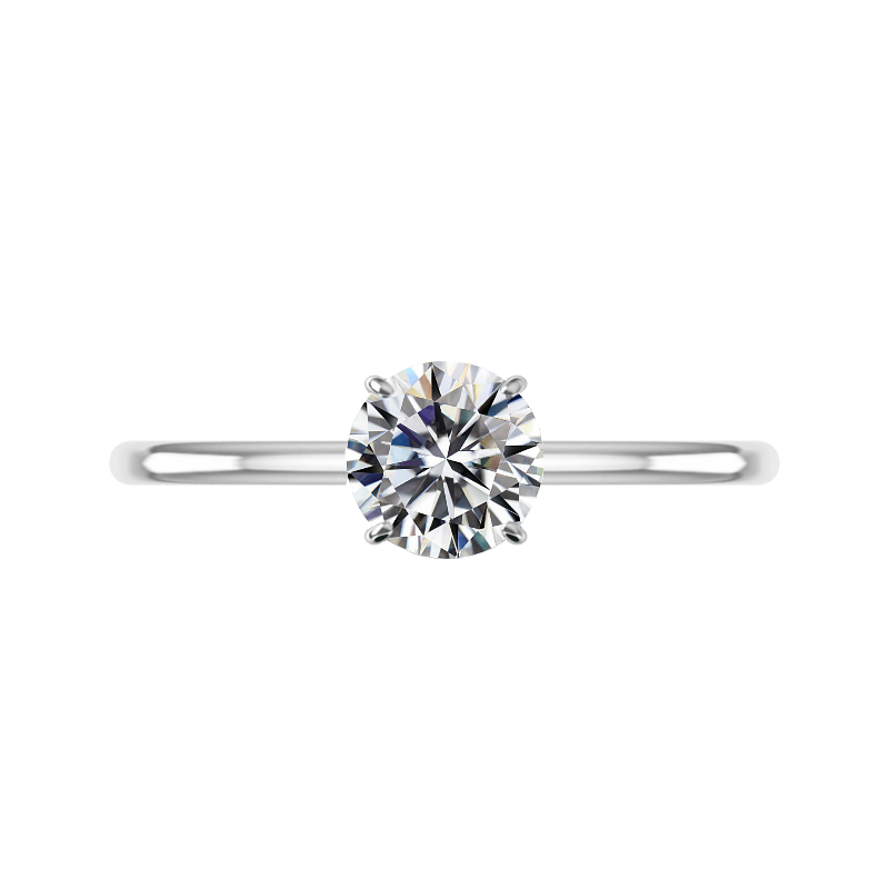 1.50 Carat Round Diamond Solitaire