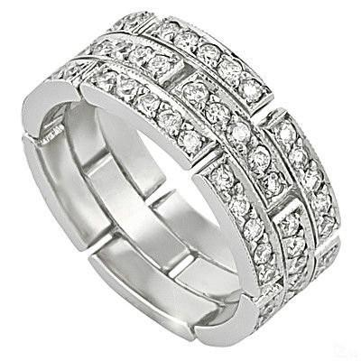 2.58 ct Men's Diamond Band (9.9mm)