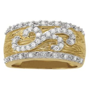 Diamond Fashion Textured Ring