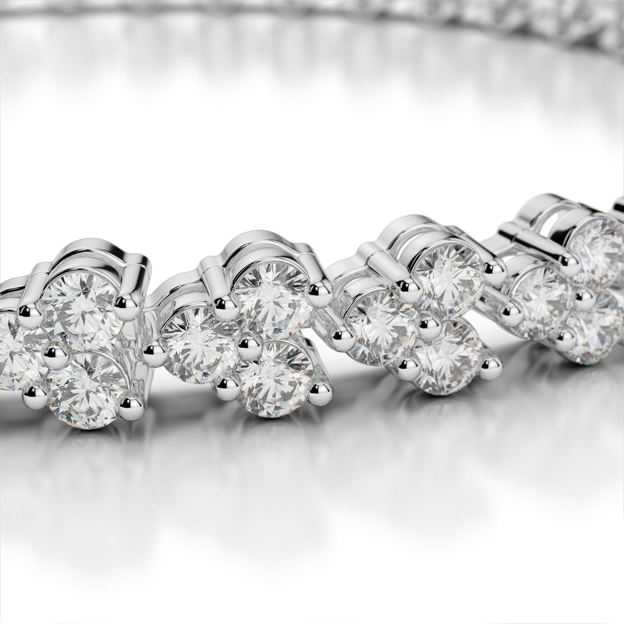 6 Carat Diamond Bracelet
