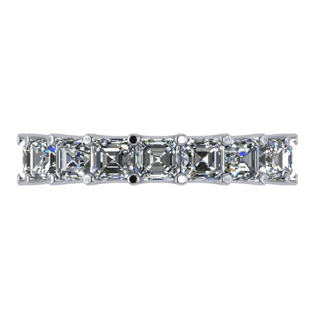 7.20 Carat Radiant Diamond Eternity Band