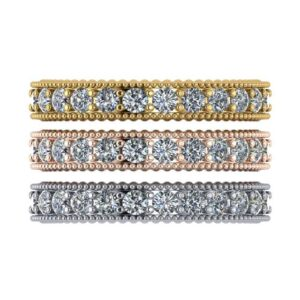 Diamond Stacking Band Trio