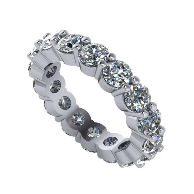 4.80 Carat tw. Round Diamond Eternity Band