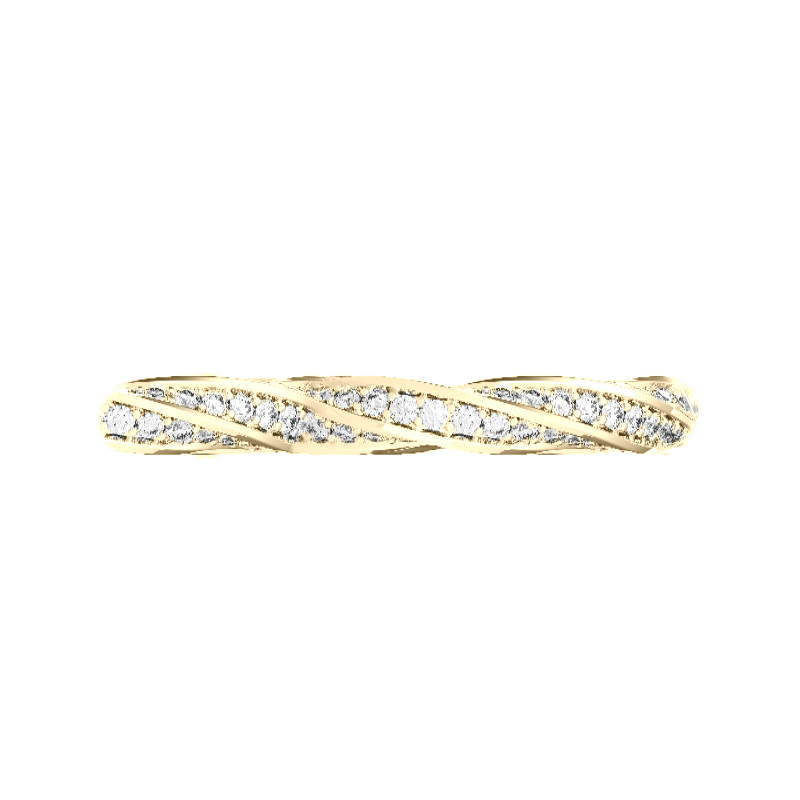 Diamond Spiral Band
